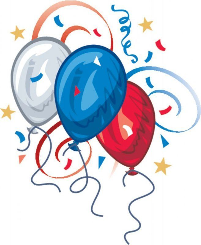 July 4th balloon.