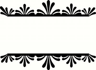 Free Beautiful Borders And Frames For Projects Black And