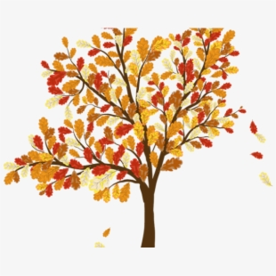 PNG Free Fall Tree Cliparts