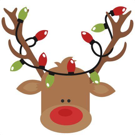 Reindeer with christmas.