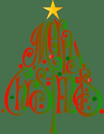 Merry christmas clip.