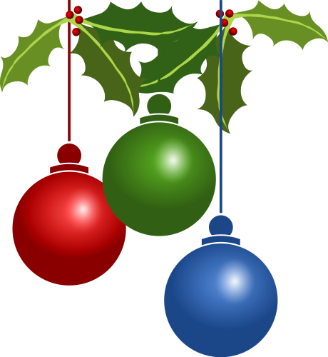 Free holly clipart.