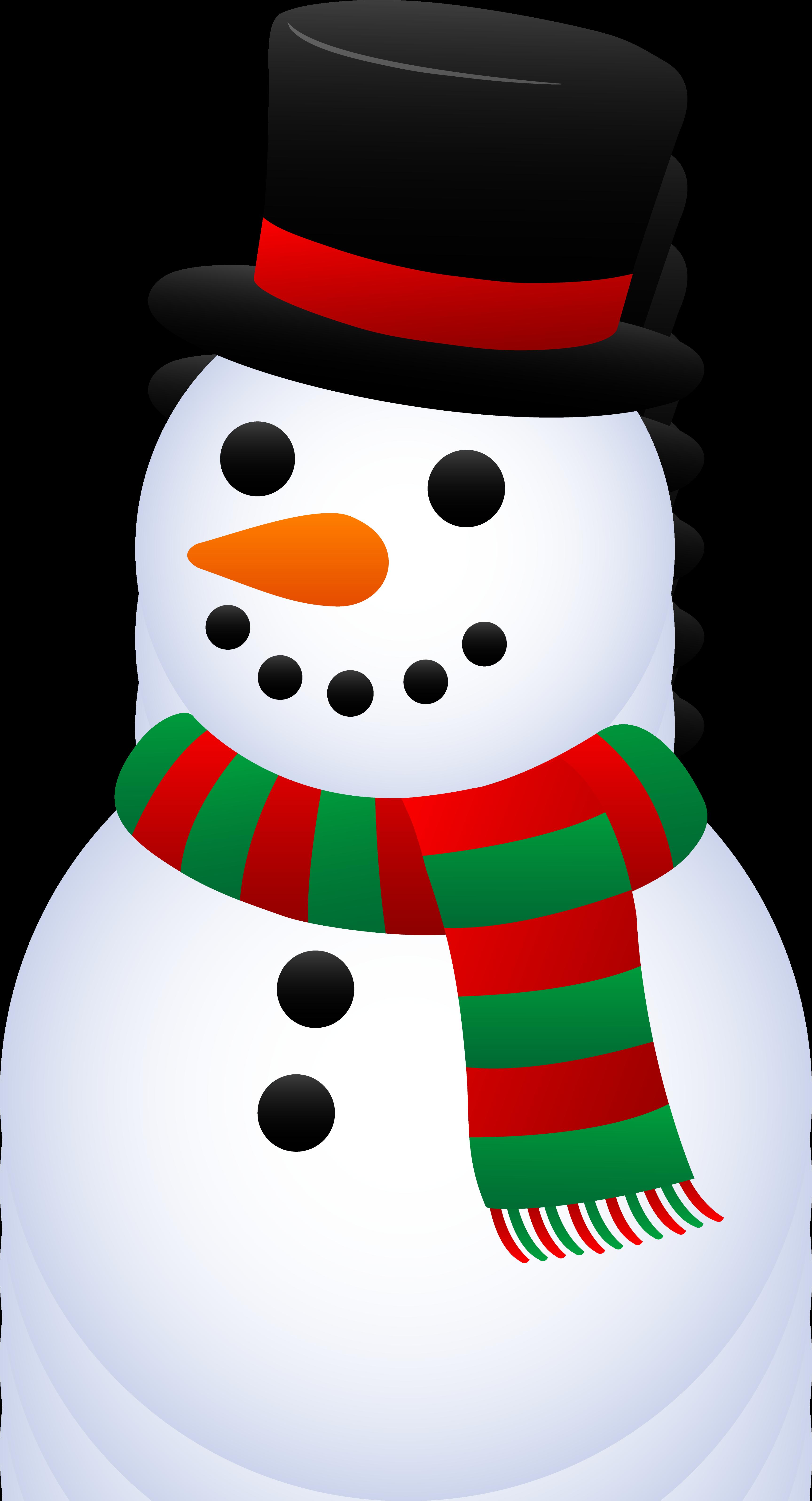 Free christmas snowman.