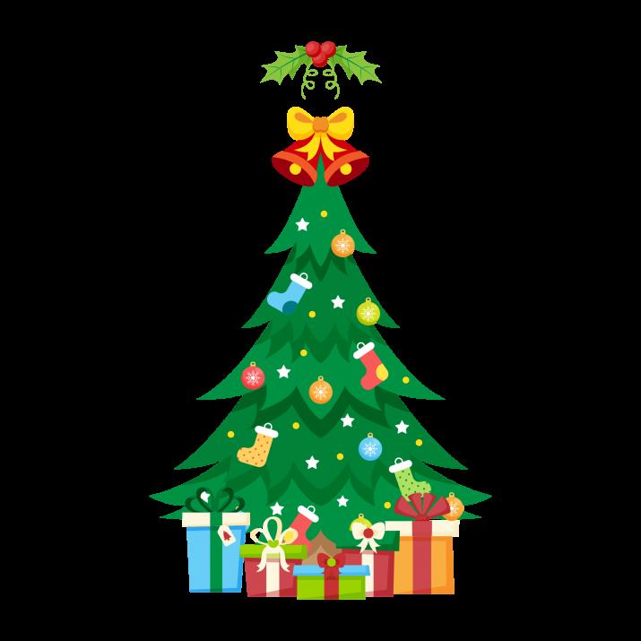 Traditional christmas tree.