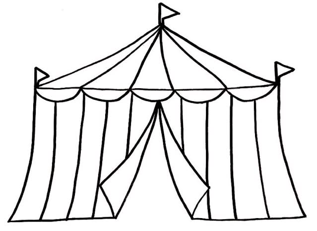 Free Circus Tent Silhouette, Download Free Clip Art, Free