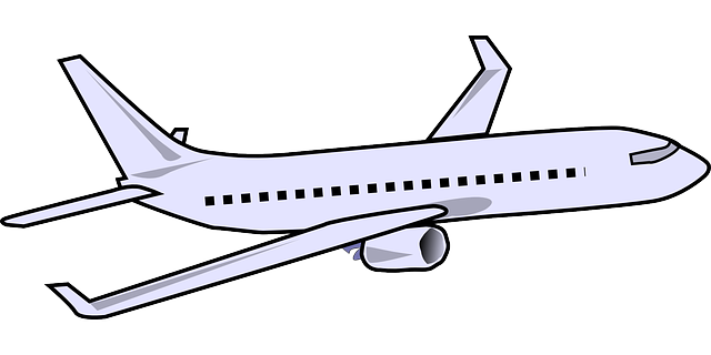 Cute airplane clipart.