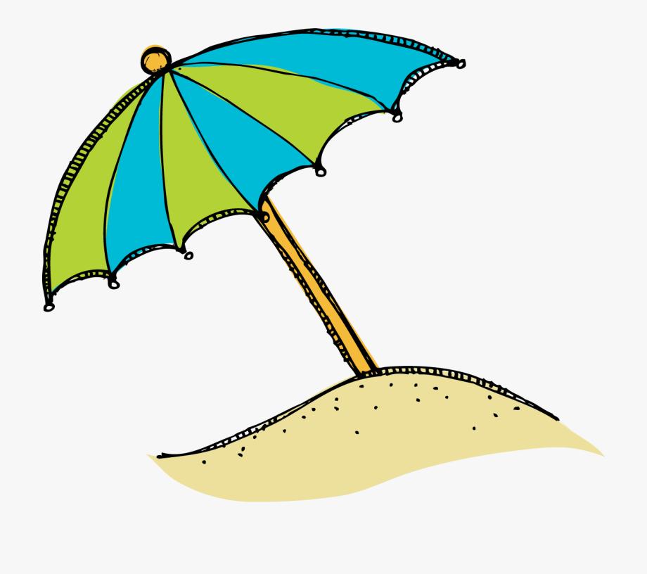 Beach Clip Art Cartoon Free Clipart Image