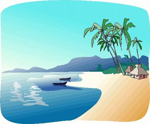 Tropical beach clip art free clipart ball