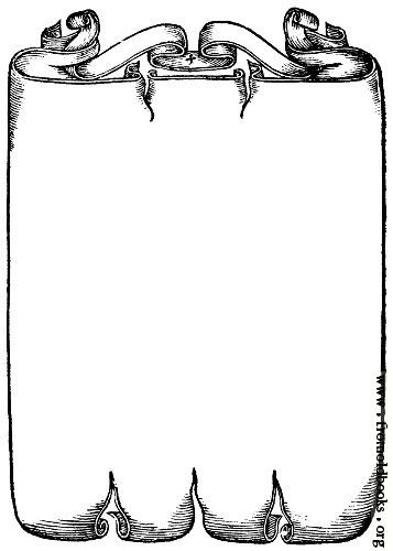 Free scroll work.