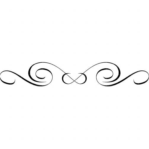 Free swirl border.