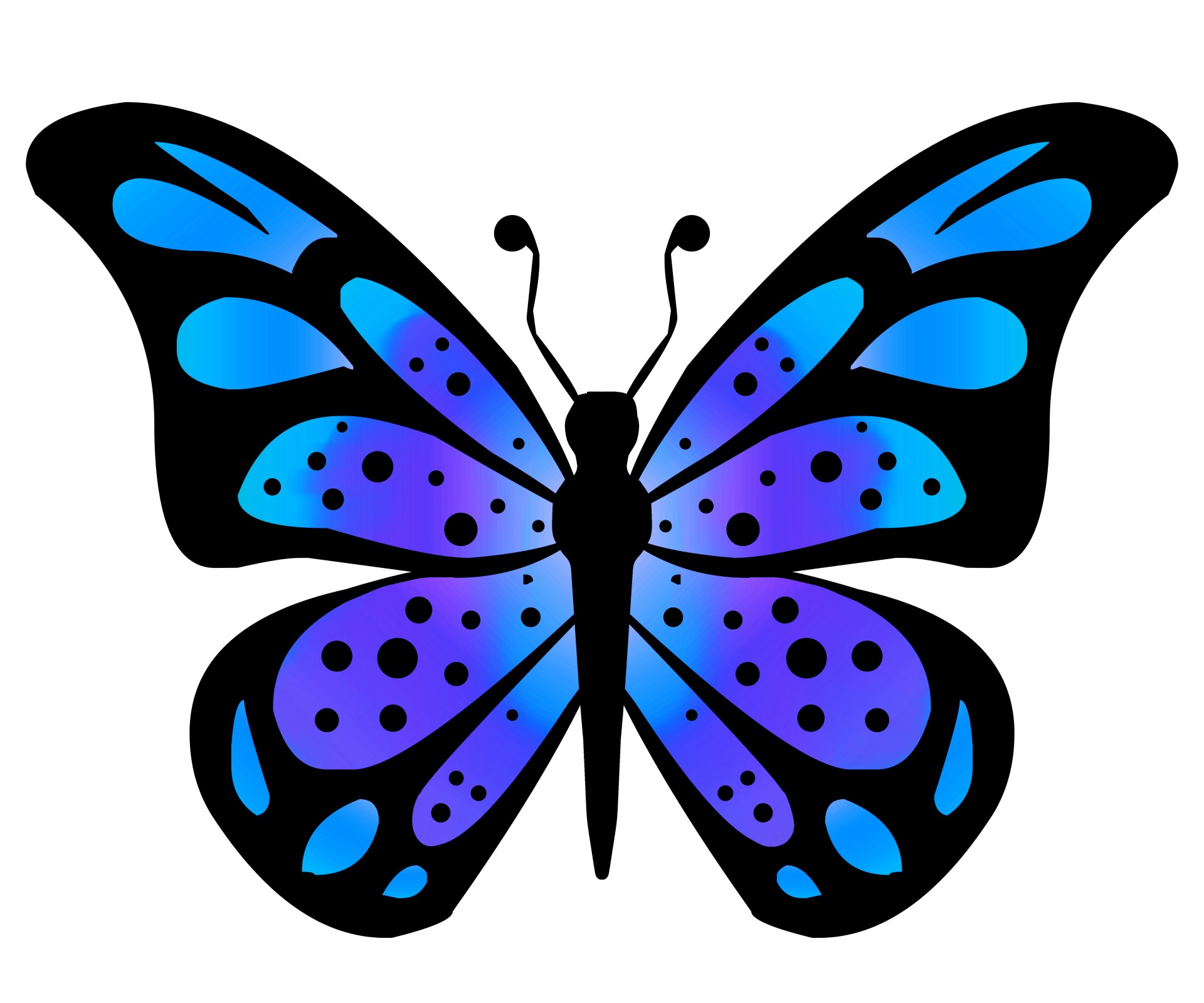 Free butterfly clipart.