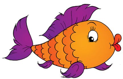 Cartoon picture fish.
