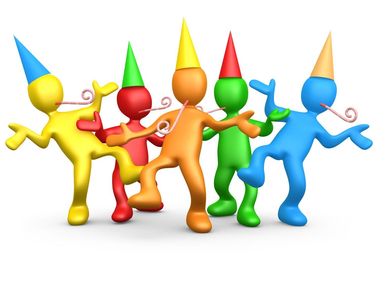 Free clipart celebrate.