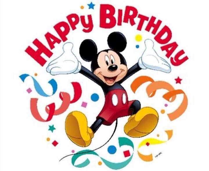 Happy birthday disney.