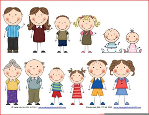 Free Clipart Family Members