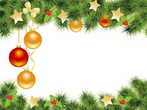 Christmas card clip.