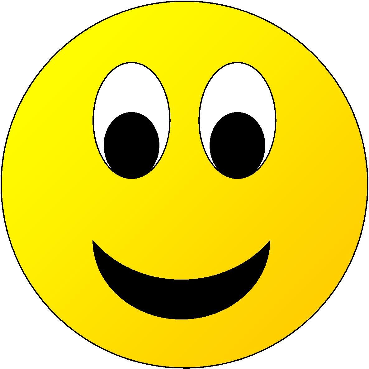 Happy Face Star Clipart