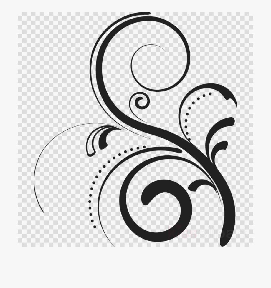 Clip art flourish.