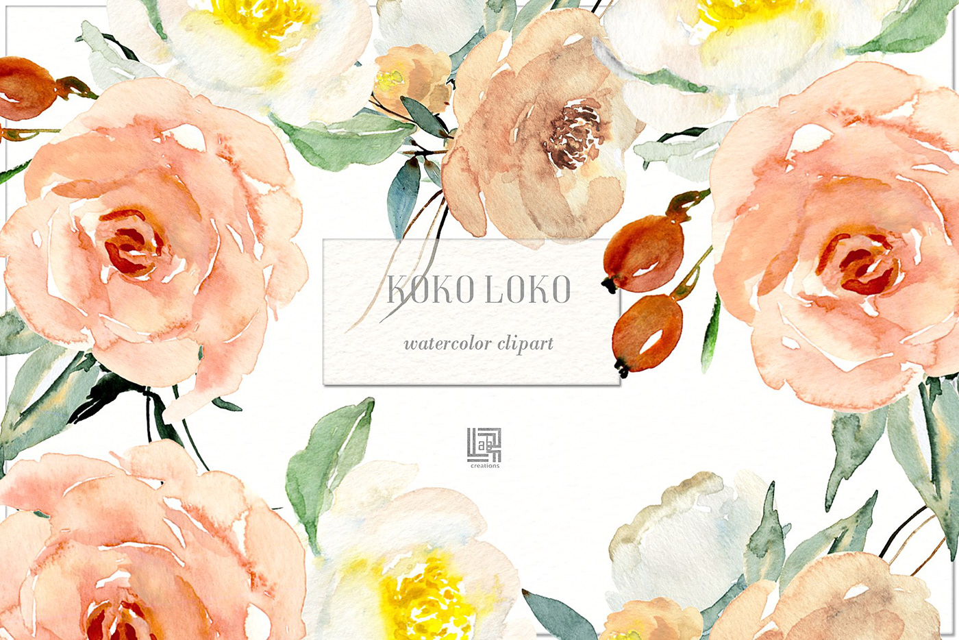 Watercolor Floral Clipart Free at PaintingValley