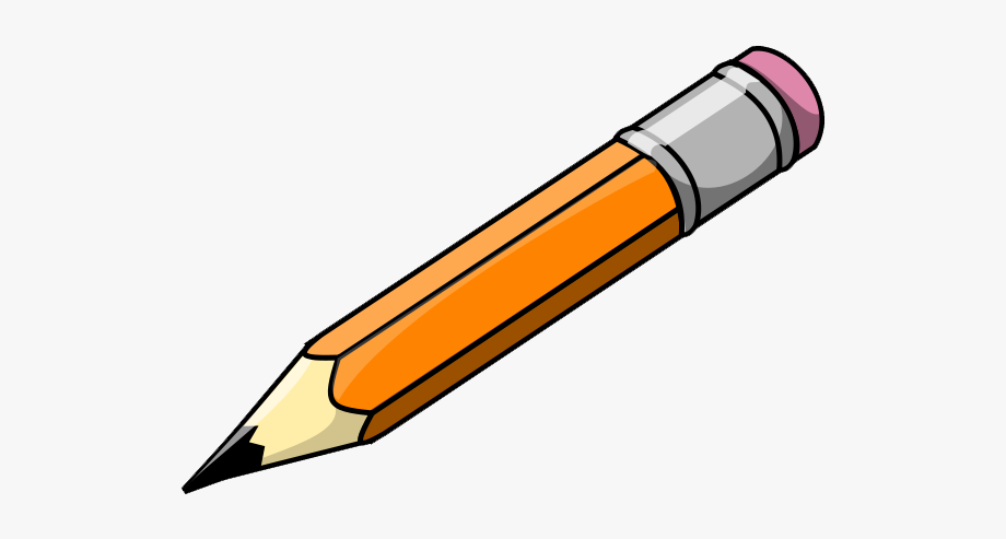 Pencil clip art.