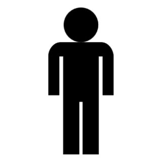 Person clip art silhouette free clipart images