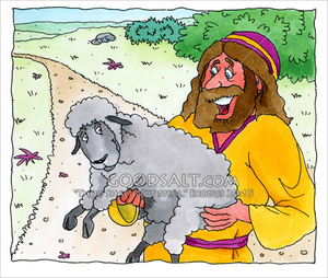 Lost Sheep Clipart