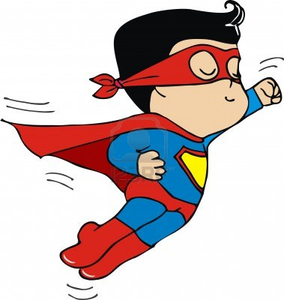 Free Clipart Of Superheroes
