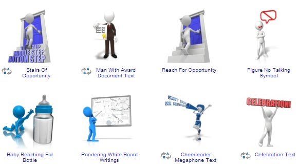 Free powerpoint cliparts.