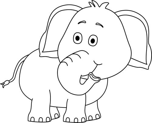 Free Elephant Images Black And White, Download Free Clip Art