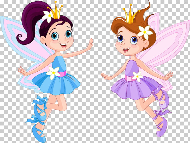 Tooth fairy , Fairy, two girl fairies wearing purple and