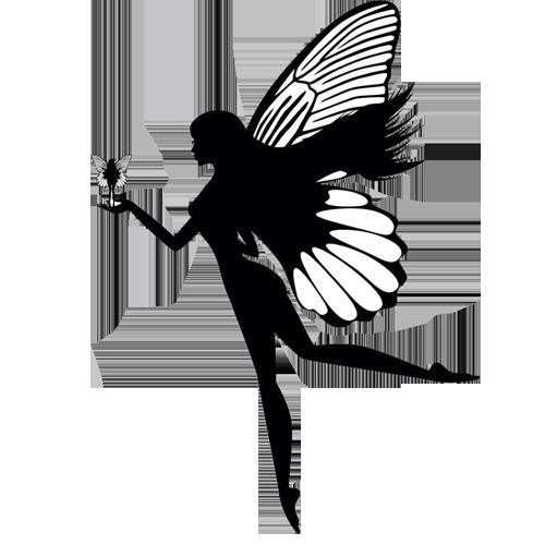 Silhouette Fairy Clip art