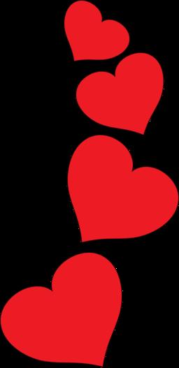 Hearts clip art.