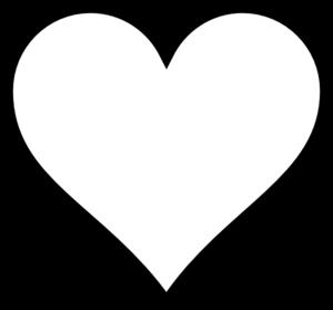 Free heart silhouette.