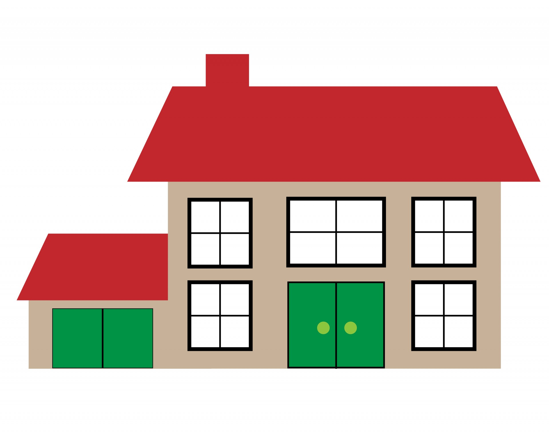 Images Of Houses Clipart