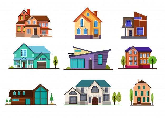 House vectors photos.