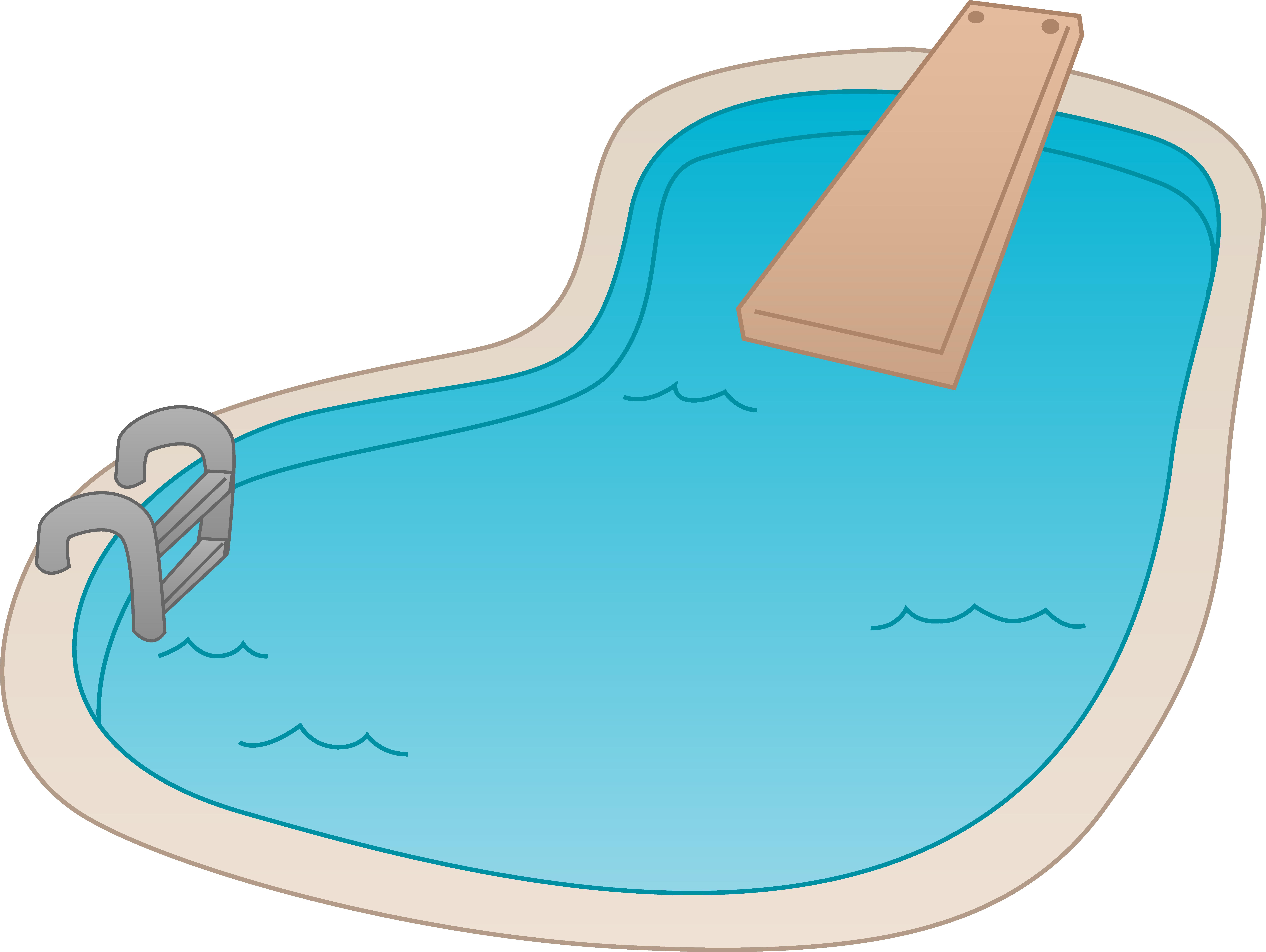 Swimming pool clip.