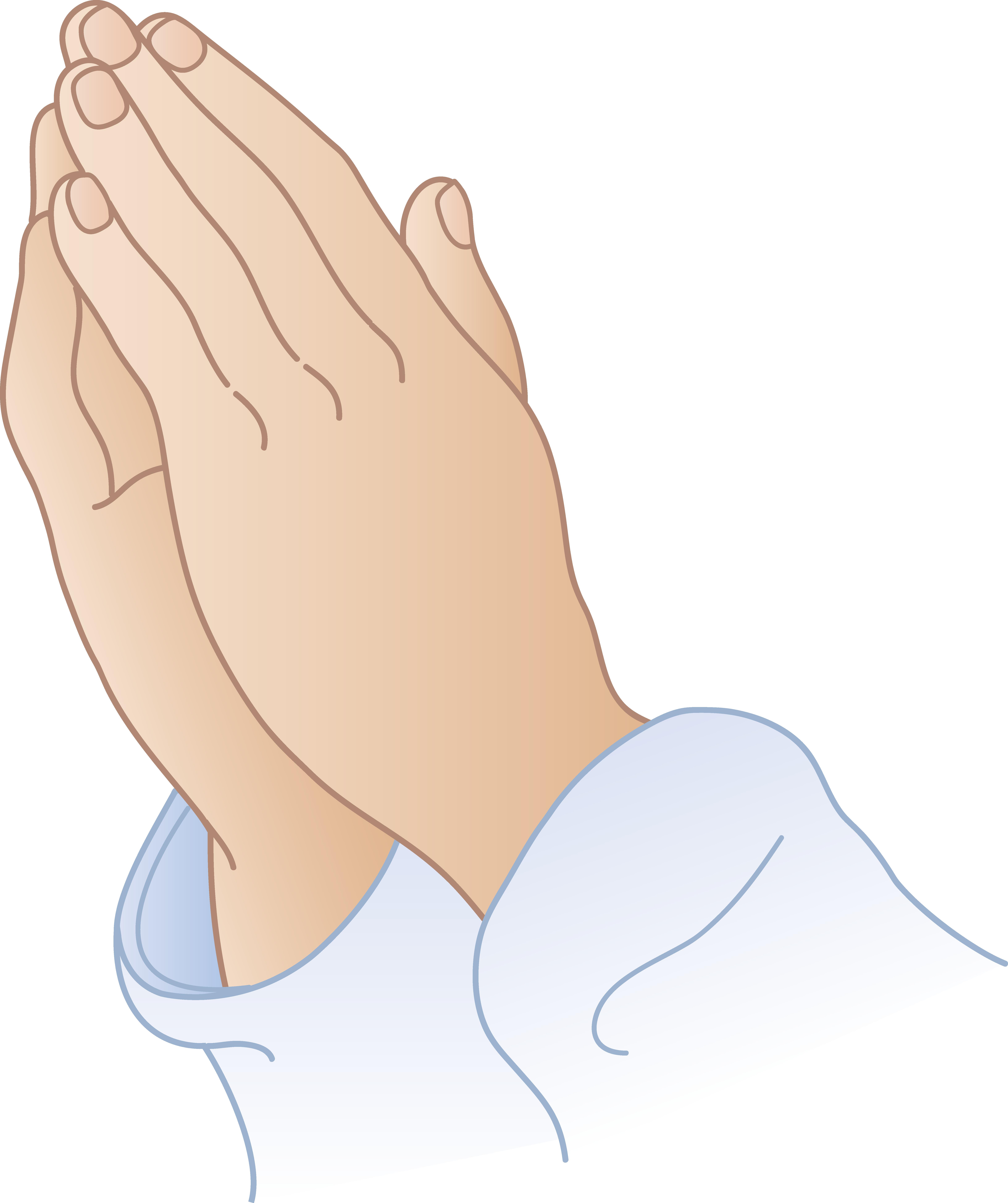 Praying hands praying.