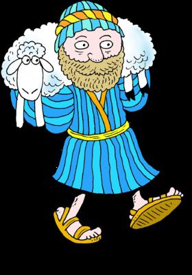 Image shepherd carrying.
