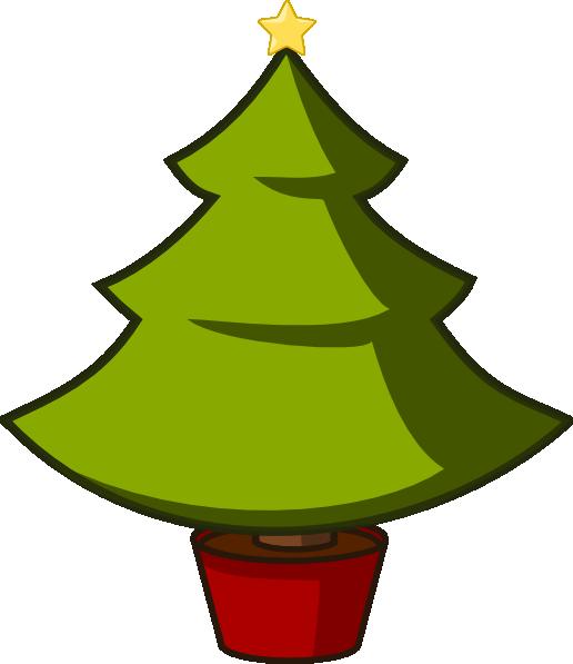 Christmas tree clip.