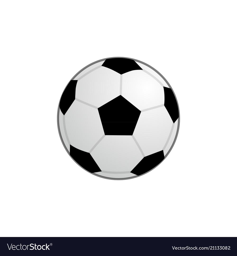 Basic football ball icon clipart
