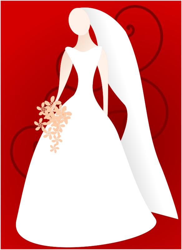 Bridal shower bride.