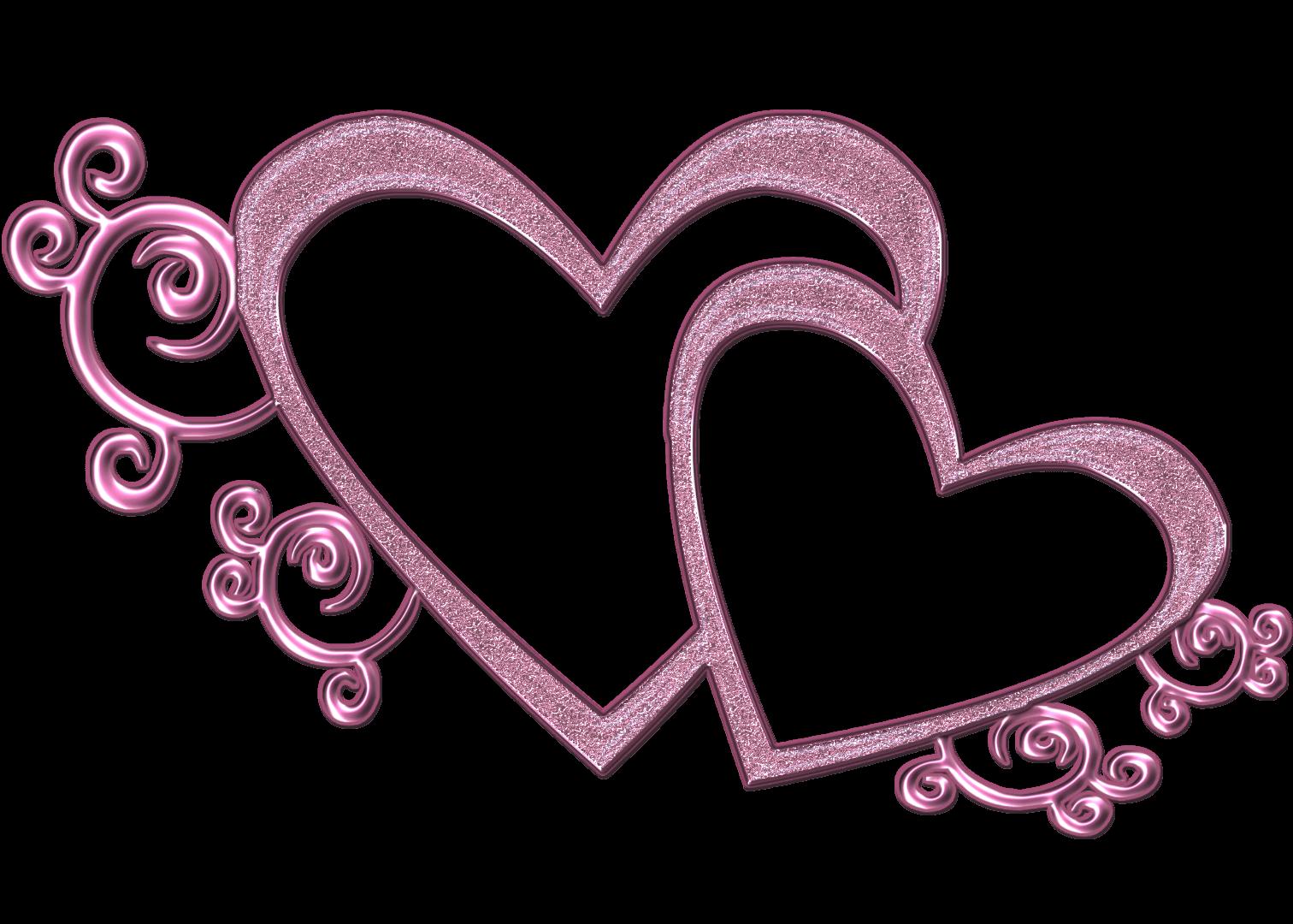 Wedding heart design.