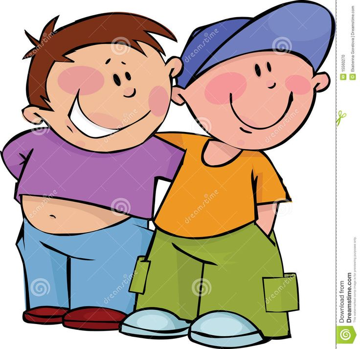 Friends clipart male.