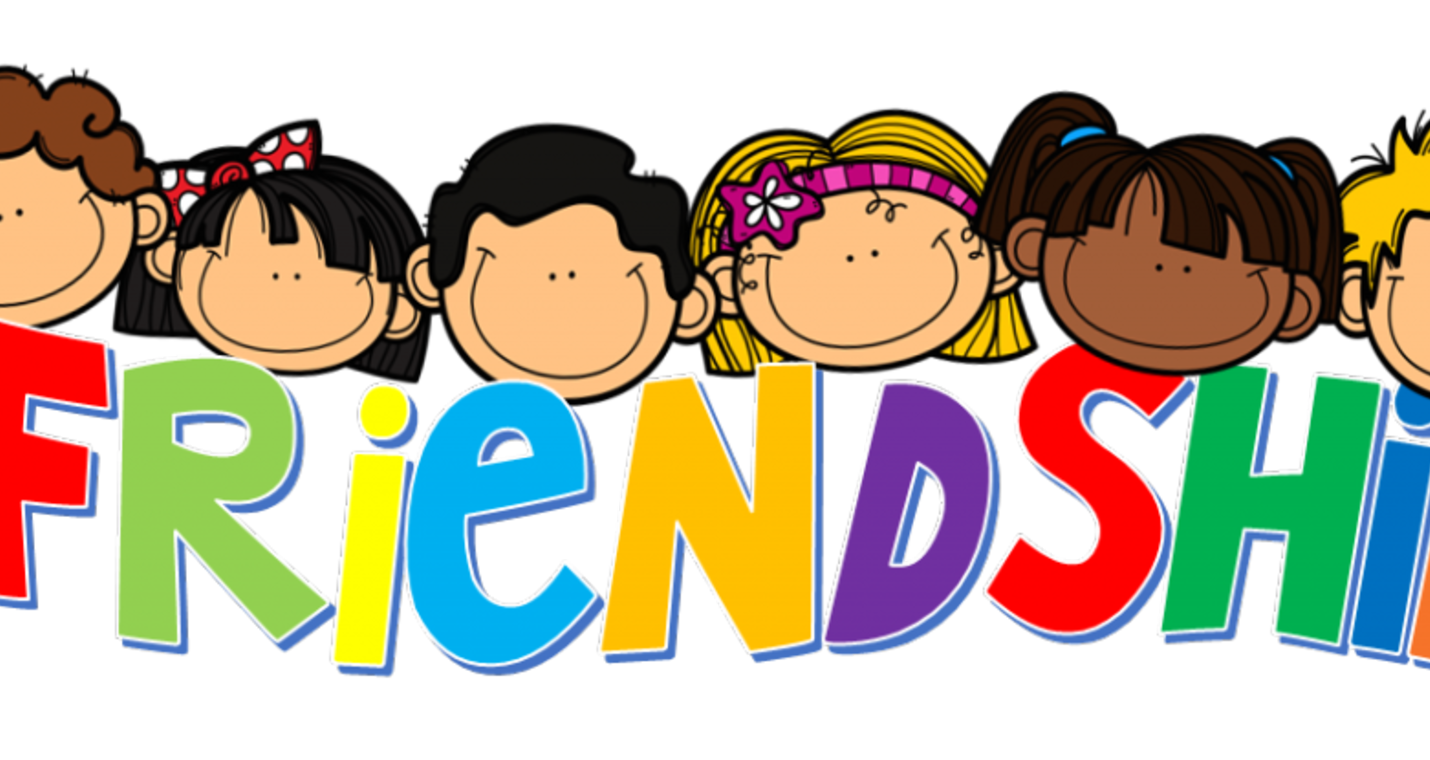 Preschool clipart friendship.