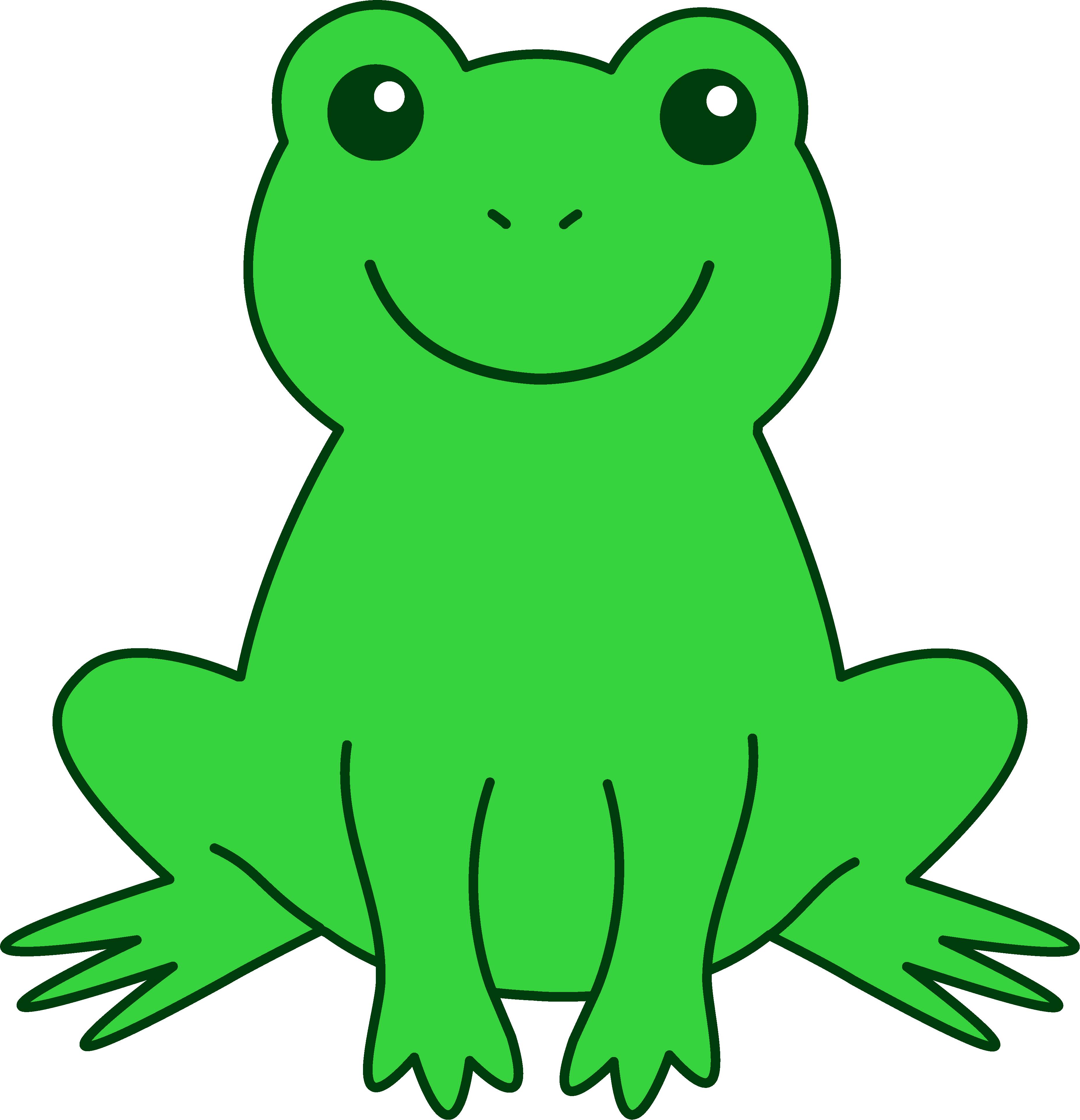 Free cute frog.