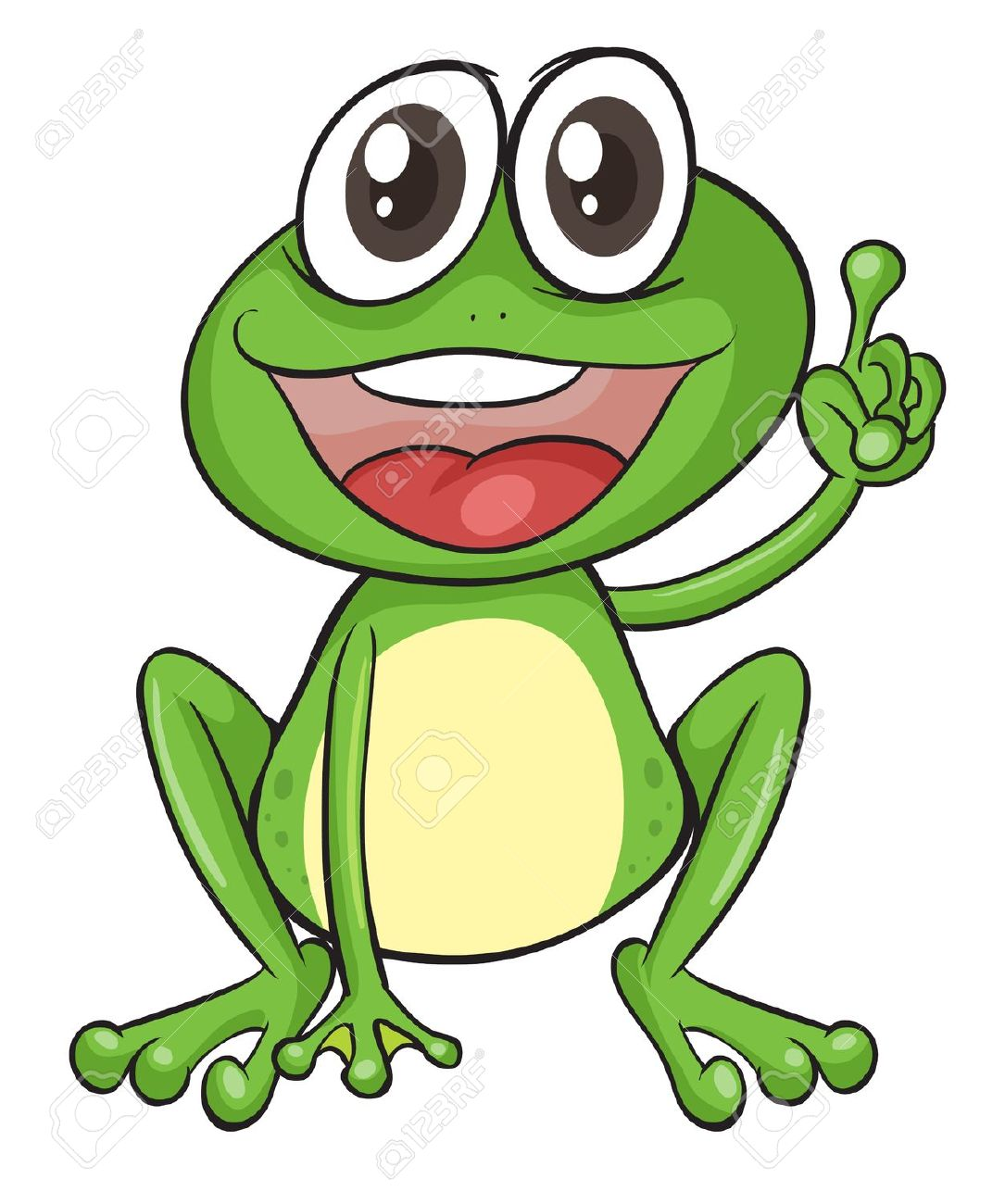 Free frog clip art drawings and colorful images