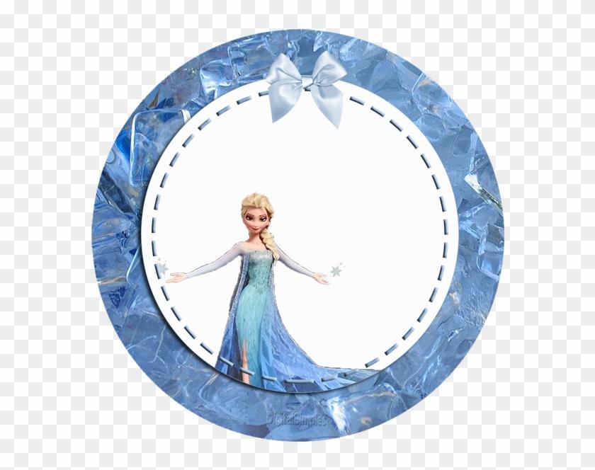 frozen clipart frame