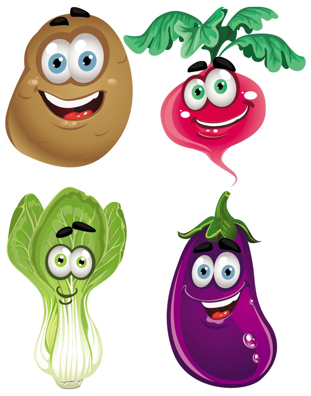 Fresh vegetables clip.