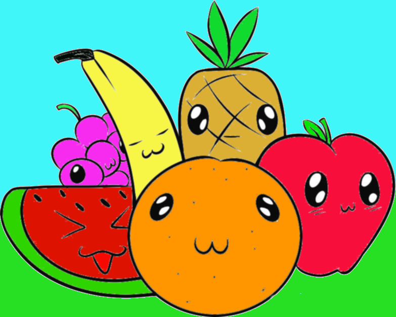 Free animated fruit.