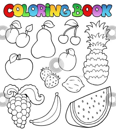 Coloring book with.
